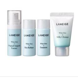 Bộ kit dưỡng da Laneige White Dew Trial Kit (4 items)